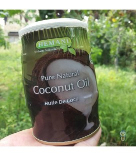Кокосовое масло Hemani Pure Natural Coconut Oil 400 мл