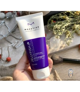 Ночная несмываемая маска для лица Masstige Jellyfish Collagen 100 мл